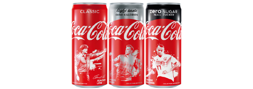 Cans Fifa World Cup Russia 2018 Coca Cola - Germany