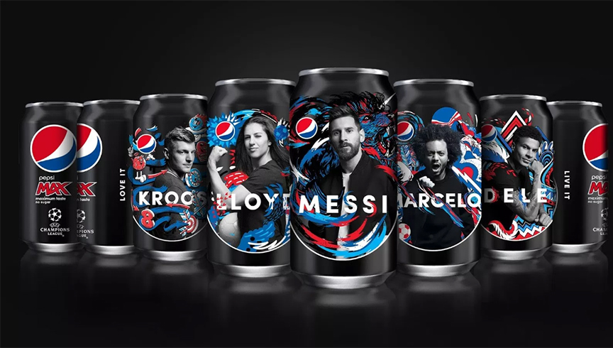 Cans Fifa World Cup Russia 2018 Pepsi Cola