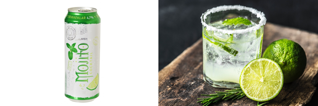 Halmstad Mojito in cans - Metal Packaging Europe