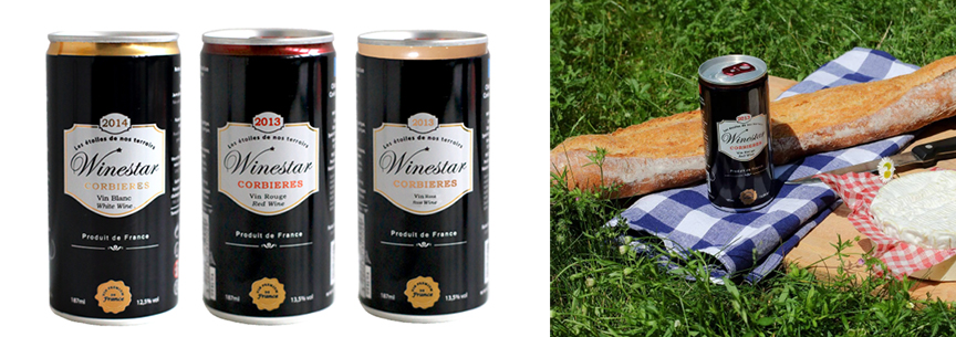 Wine in a Can - WineStar