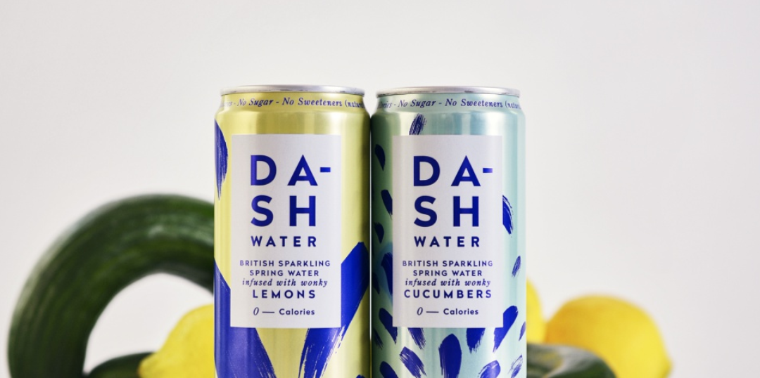 Dash flavoured waters